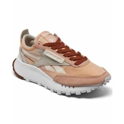 リーボック レディース スニーカー シューズ Women's Classic Leather Legacy Casual Sneakers from Finish Line Cer Pink Aura