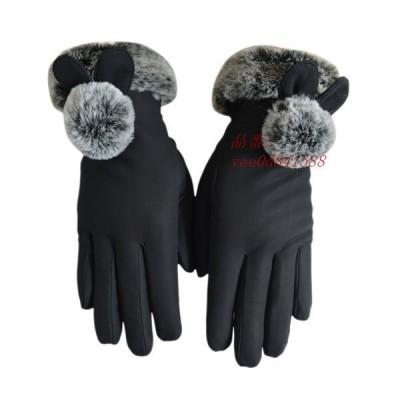 手袋 手ぶくろ 防寒 防風 グローブ 暖かい レディース スマホ手袋 スマートフォン対応 タッチパネル 裏フリース 裏起毛 アウトドア用品