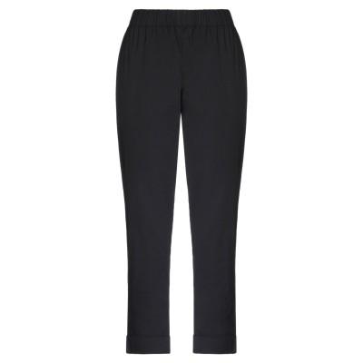 セミクチュール SEMICOUTURE パンツ ブラック 38 コットン 79% / ナイロン 18% / ポリウレタン 3% パンツ