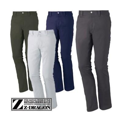 自重堂 Z-DRAGON ストレッチノータックパンツ 71901
