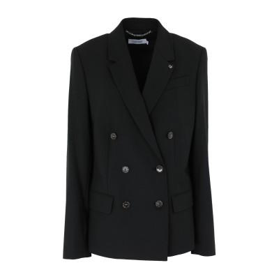 カルバン クライン CALVIN KLEIN テーラードジャケット ブラック 34 ポリエステル 58% / レーヨン 38% / ポリウレタン 4