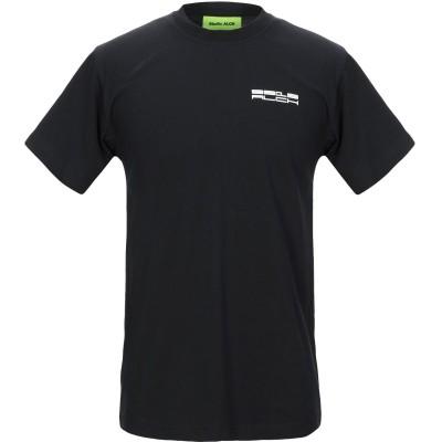 STUDIO ALCH T シャツ ブラック M コットン 100% T シャツ