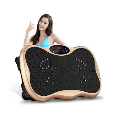 MUSFIT 振動マシン ぶるぶるフィットネス 振動99段階 5つモード シェイカー式 Bluetooth音楽機能