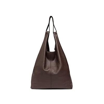 Women's Hobo Handbag STEPHIECATH Italian Genuine Leather Slouchy Shoulder B