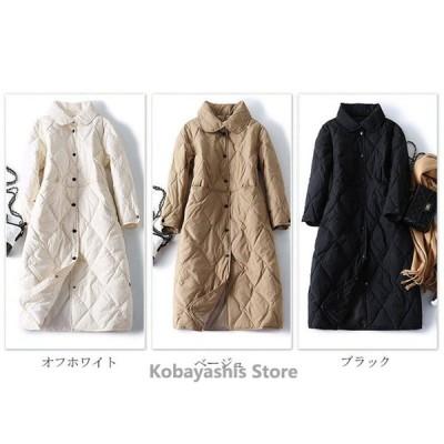 ダウンジャケット ジャケット ダウンコート 中綿コート コート ロング レディース 軽量 チェスター 冬 40代 アウター チェスター 暖かい