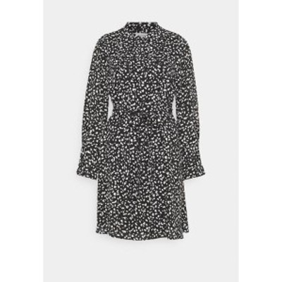 セレクテッドフェム レディース ワンピース トップス SLFLIVIA SHORT DRESS - Day dress - black black