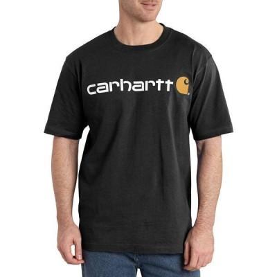 カーハート メンズ シャツ トップス Carhartt Men's Logo T-Shirt (Regular and Big & Tall)