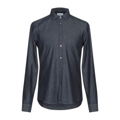 ドンダップ DONDUP デニムシャツ ブルー M コットン 100% デニムシャツ