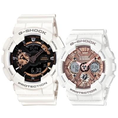 ペアウォッチ CASIO G-SHOCK Gショック カシオ 時計 メンズ レディース 腕時計 デジタル アナデジ ビッグケースシリーズ Sシリーズ ミッドサイズ 海外モデル