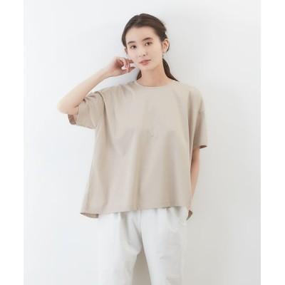 collex/コレックス 【接触冷感】コンパクトクールフレアーTシャツ グレージュ F
