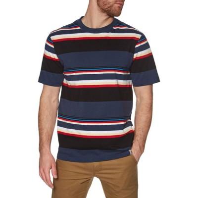 カーハート Carhartt WIP メンズ Tシャツ トップス carhartt sunder short sleeve t-shirt Sunder Stripe/ Blue/Blue
