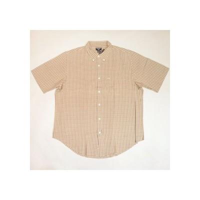 Polo Jeans Ralph Lauren シャツ ポロジーンズ ラルフローレン チェックシャツ 半袖ショートスリーブ ボタンダウン 大きいサイズXXLビッグサイズ