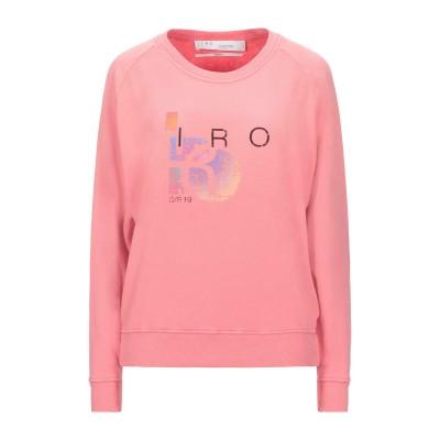 イロ IRO スウェットシャツ ピンク S コットン 50% / レーヨン 50% / ポリウレタン スウェットシャツ