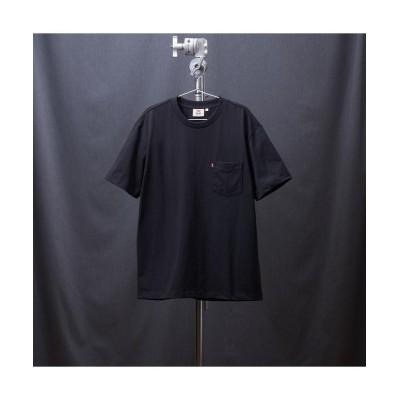 【リーバイス】 MIU BOXY Tシャツ CAVIAR メンズ BLACKS M- Levi's