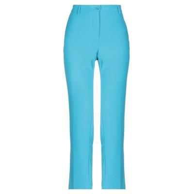 ブルーガール ブルマリン BLUGIRL BLUMARINE パンツ ターコイズブルー 42 ポリエステル 100% パンツ