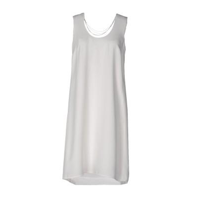 パトリツィア ペペ PATRIZIA PEPE ミニワンピース&ドレス ホワイト 38 70% アセテート 30% レーヨン ミニワンピース&ドレス