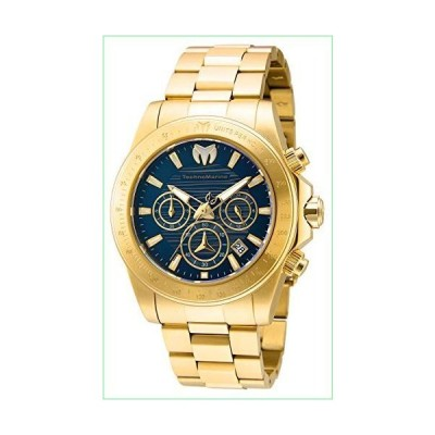 Technomarine Men's Manta Ray Quartz Watch with Stainless Steel Strap, Gold, 22 (Model: TM-219006)【並行輸入品】