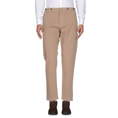 メッサジェリエ MESSAGERIE パンツ キャメル 52 コットン 98% / ポリウレタン 2% パンツ