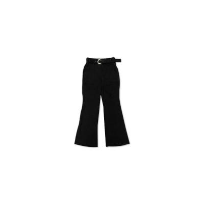 アイエヌシーインターナショナルコンセプト カジュアルパンツ ボトムス レディース INC Belted Wide-Leg Pants,  Deep Black