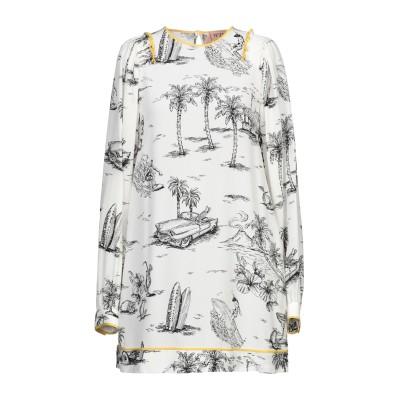 ヌメロ ヴェントゥーノ N°21 ミニワンピース&ドレス ホワイト 40 シルク 100% ミニワンピース&ドレス