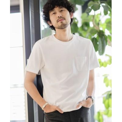 nano・universe / 《WEB限定》《汗染み防止》Anti Soaked ヘビークルーネックTシャツ MEN トップス > Tシャツ/カットソー