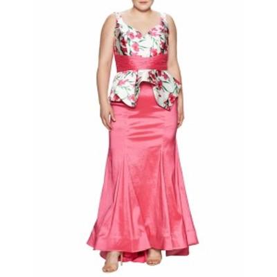 マックドゥーガル レディース ワンピース Floral Print Gown