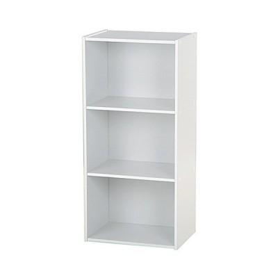 カラーボックス 幅42cm高さ89cm 3段 ホワイト 93501 安い