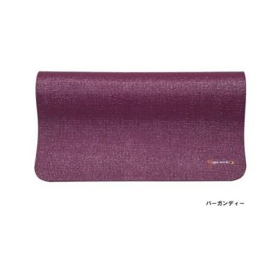 ヨガワークス-Yogaworks-ヨガマット6mm-バーガンディ-YW-A102-C008