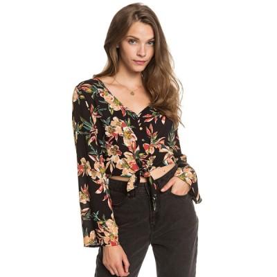アウトレット価格 セール SALE セール SALE ロキシー ROXY  シャツ WINTER GARDEN DOBBY Womens Shirts