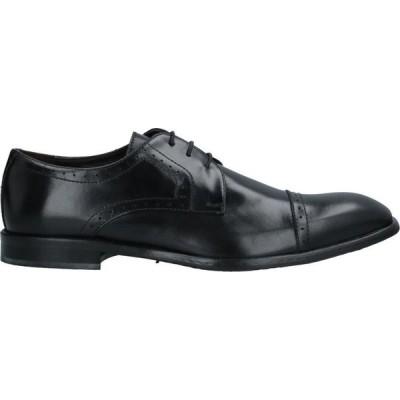 リチャード ラース RICHARD LARS メンズ 革靴・ビジネスシューズ シューズ・靴 Laced Shoes Black