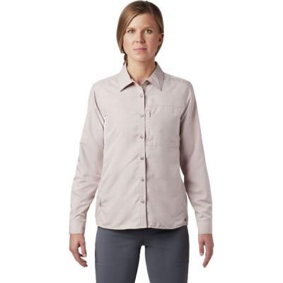 (取寄)マウンテンハードウェア キャニオン ロングスリーブ シャツ - ウィメンズ Mountain Hardwear Canyon Long-Sleeve Shirt - Women's Smoky Quartz