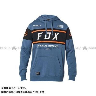 フォックス フーディー オフィシャル(ブルースチール) サイズ:L FOX