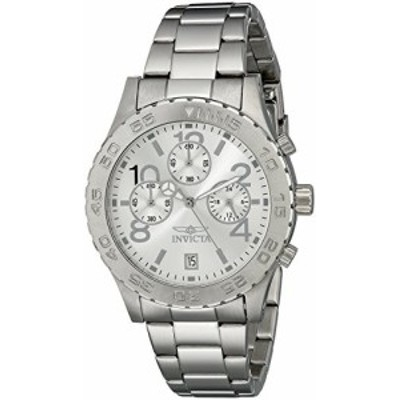 Invicta Mens 1278 II Collection Chronograph Silver Dial Stainless Steel Watch