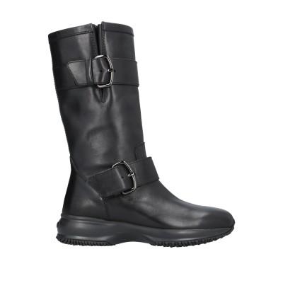 ホーガン HOGAN ブーツ ブラック 35.5 革 ブーツ