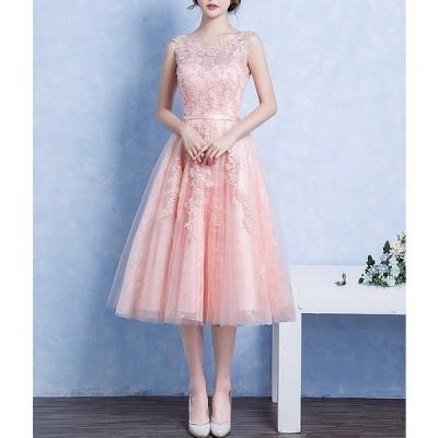 ドレス レース エレガント フェアリー 繊細 結婚式 パーティー