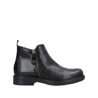 OROSCURO ショートブーツ ブラック 36 牛革(カーフ) ショートブーツ