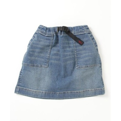 THE BAREFOOT / 【 GRAMICCI / グラミチ 】# KIDS DENIM MOUNTAIN SKIRT 5192-DMJ-K KIDS スカート > デニムスカート