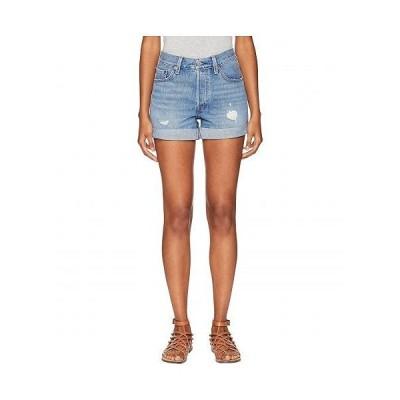 Levi's(R) Premium リーバイス レディース 女性用 ファッション ショートパンツ 短パン Premium 501 Long Shorts - Highways & Biways