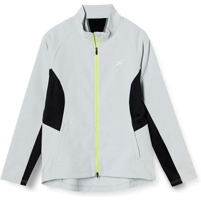 [シーダブリューエックス] ジャケット (ハイネック・長袖) 吸汗速乾 UVカット レディース DWY399 グレー 日本 L (日本サイズL相当)