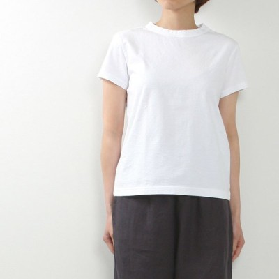 style+confort[スティールエコンフォール]天竺半袖Tシャツ 101-80804