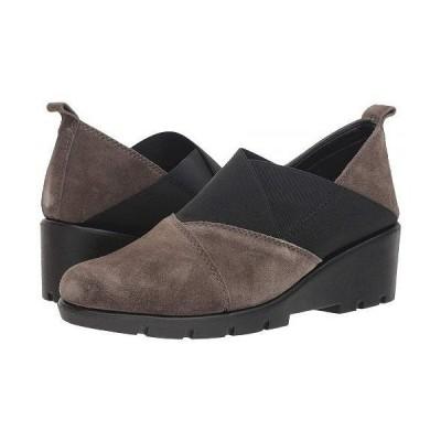 The FLEXX レディース 女性用 シューズ 靴 ローファー ボートシューズ Crosstown - Fango Suede