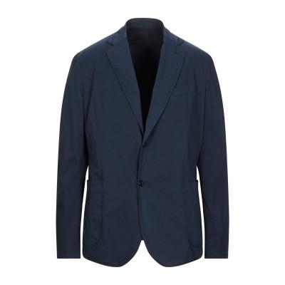 CC COLLECTION CORNELIANI テーラードジャケット ダークブルー 50 コットン 97% / ポリウレタン 3% テーラードジャ