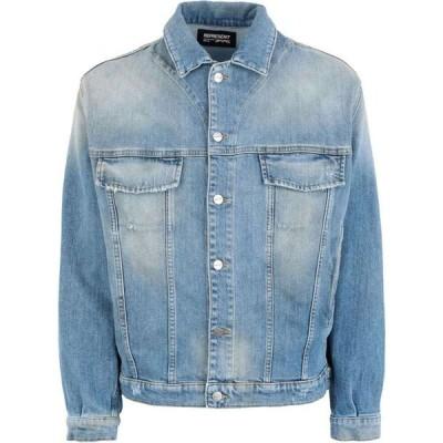 リプレゼント REPRESENT メンズ ジャケット Gジャン アウター denim jacket Blue