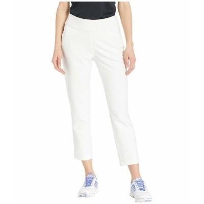 アディダス カジュアルパンツ ボトムス レディース Ultimate365 Adistar Cropped Pants White