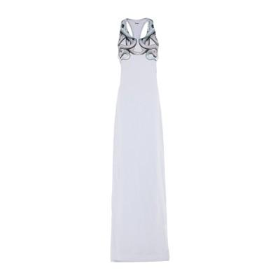 マルセロ ブロン MARCELO BURLON ロングワンピース&ドレス スカイブルー S コットン 100% ロングワンピース&ドレス