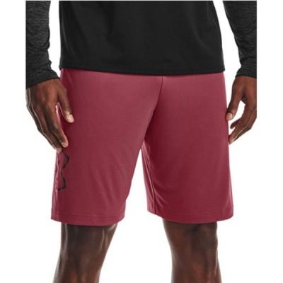"""アンダーアーマー Under Armour メンズ ショートパンツ ボトムス・パンツ UA Tech' Logo 10"""" Shorts Blur"""