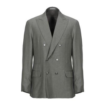 ブルネロ クチネリ BRUNELLO CUCINELLI テーラードジャケット ミリタリーグリーン 50 ウール 60% / リネン 40% テーラ