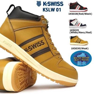 ケースイス 防水 スニーカー KSLW 01 メンズ ウィンタースニーカー スノーシューズ Kスイス