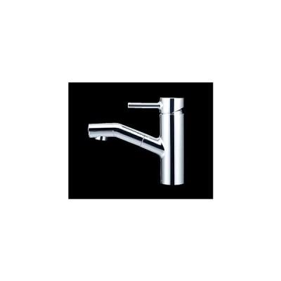 *KVK水栓金具* KF909 シングルレバー式混合栓〈送料・代引無料〉