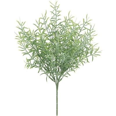屋外対応 フロスト スプレンゲリー ブッシュ 全長27cm 6本セット 屋外用 アウトドア 造花 フェイクグリーン